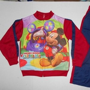 Vintage Designed mickey mouse sweatsuit